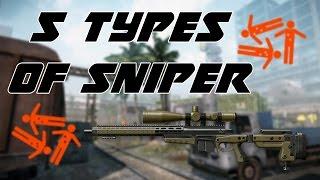 Video Warface: 5 types of sniper #NEW MP3, 3GP, MP4, WEBM, AVI, FLV Juli 2018