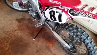 3. 2009 Honda CRF450R MODS Steahly Flywheel / Trail Tech Stand