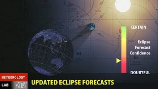 Another look at the total eclipse coming on the 1st._____________________________________________________________________________LEARN TO FORECAST! Improve your university meteorological studies with practical experience, gear up for your career in meteorology, or just check out how it's done! Meteorologist  Tim Vasquez (based in the Dallas-Fort Worth area) takes a look at what's happening around the US this evening.Please donate to keep these videos coming.  I don't place ads on most of my videos and I rely on you all to help voluntarily.  The more support there is, the more videos and forecasting specials I will put out.  Thank you!DONATE VIA STREAMLABS (donors during the stream get thanked live on the air)https://youtube.streamlabs.com/UCA6mm30VIccQaYjABLaQ6EgDONATE VIA PATREONhttp://www.patreon.com/metlab TWITTER FEED@WeatherGraphics
