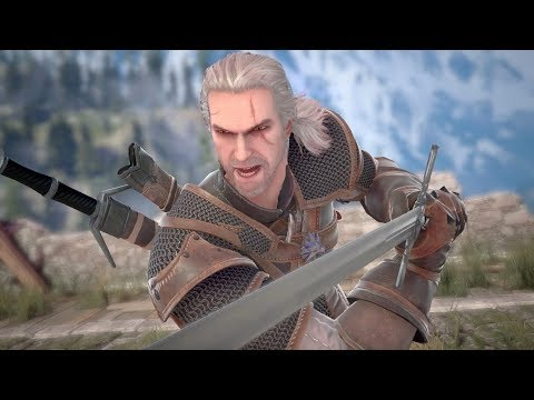 Soul Calibur Vi - Geralt s'invite dans l'action