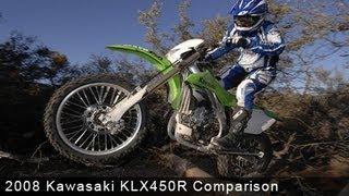 4. 2008 Kawasaki KLX450R Comparison - MotoUSA