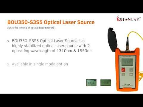 BOU350-S3S5 Optical Laser Source | Stanlay