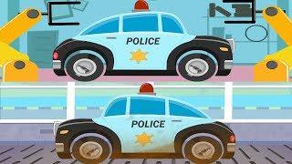 Video Police Car | Car Garage | Car Wash | Police Vehicle for Kids & Toddlers MP3, 3GP, MP4, WEBM, AVI, FLV November 2018