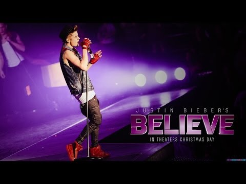 Justin Beiber's Believe Movie Blu Ray Unboxing 4/8/14