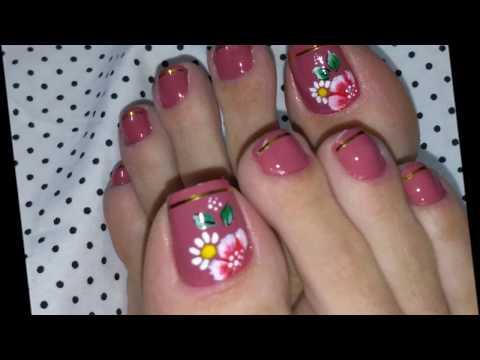 Uñas decoradas - Unhas dos pés decoradas