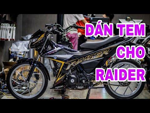Phố Decal | Dán tem ghép cho RAIDER | 4Em tổng hợp - Thời lượng: 12 phút.
