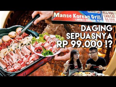 MANSE All You Can Eat !! MAKAN DAGING SEPUASNYA CUMA RP 99.000 !!!