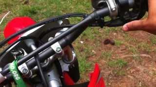 11. Honda crf 230f dirtbike