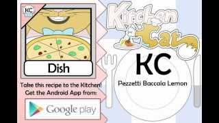 KC Pezzetti Baccala Lemon YouTube video