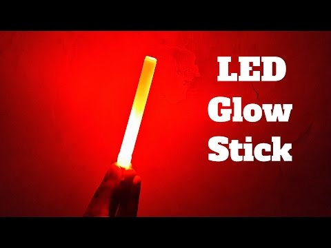 How to Make a LED Glow Stick |  DIY Party Decorating Ideas