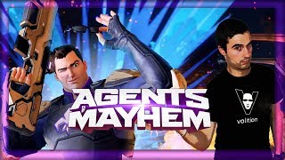 Et voici enfin Agents of mayhem , un jeu complètement fou qui est bourré de références au comics , aux fils hollywoodiens , à...