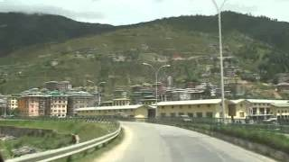 Thimphu Bhutan  city pictures gallery : Drive from Paro to Thimphu, Bhutan