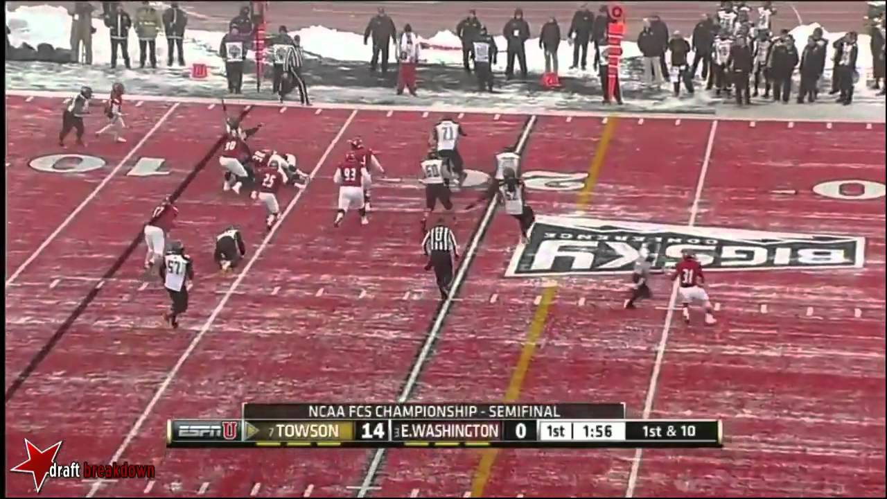 Terrance West vs Eastern Washington (2013)