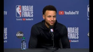 Video Golden State Warriors Media Availability | NBA Finals Game 1 MP3, 3GP, MP4, WEBM, AVI, FLV September 2019