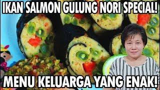 Video Resep : Ikan Salmon Gulung Nori Special Menu Keluarga Yang Enak!!! MP3, 3GP, MP4, WEBM, AVI, FLV November 2018