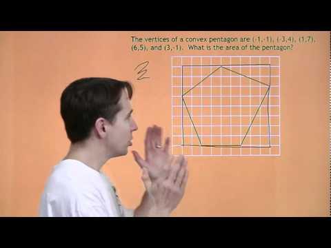 MATHCOUNTS Mini # 18 - Bereiche der unregelmäßige konvexe Polygone