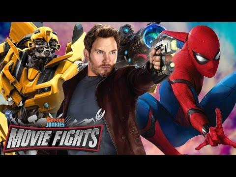 Biggest Summer Blockbuster of 2017?! Spider-Man: Homecoming v Guardians Vol 2! - MOVIE FIGHTS!!