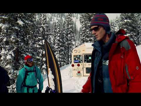 Freeriding with Shaun White in CO's backcountry (видео)