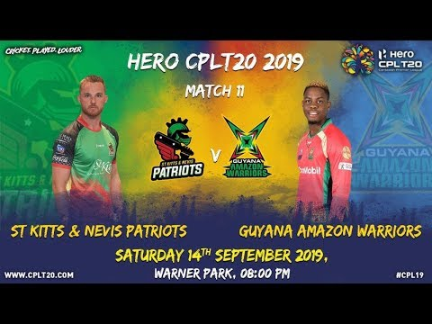Match 11 Highlights | #SKPvGAW | #CPL19