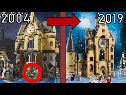 ALT gegen NEU | LEGO Harry Potter 2019 Sets im Vergleich! (2001- 2019)