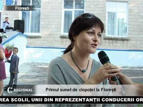 Primul sunet de clopoțel la Florești