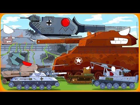 Tất cả các phim hoạt hình quái vật Mỹ về xe tăng - Thời lượng: 8:04.