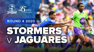 Stormers v Jaguares Rd.4 2020 Super rugby video highlights | Super Rugby Video Highlights