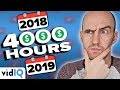 Download Lagu I Didn't Get 4000 Watch Hours In 2018. Do I Need To Start Again? 💰🤔 Mp3 Free