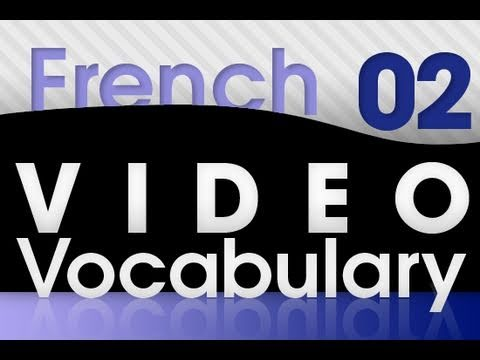 Franzöisch lernen - Video Vokabeln #2
