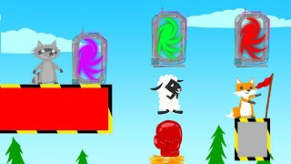 Which Teleporter Is the RIGHT One? (Ultimate Chicken Horse)