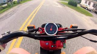7. Honda Ruckus Top Speed Run