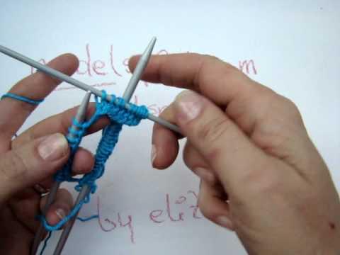 Stricklehrgang 6 – Maschenanschlag Nadelspiel