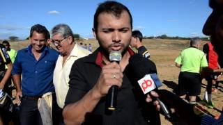 Inicio do campeonato do futebol em Vieirópolis