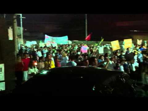 Manifestação em Limeira SP
