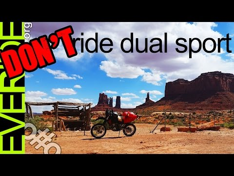 Brutally Honest Cons of Dual Sport