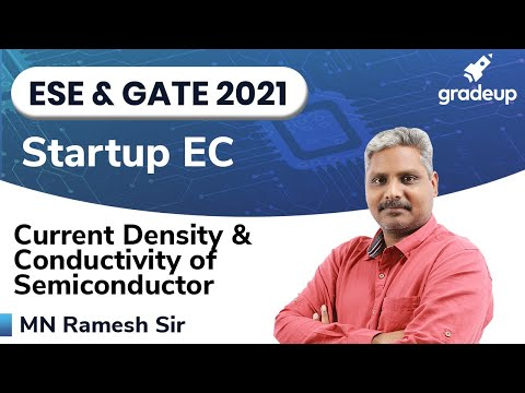 Current Density & Conductivity of Semiconductor | Electronic Devices | StartUp Series | Gradeup