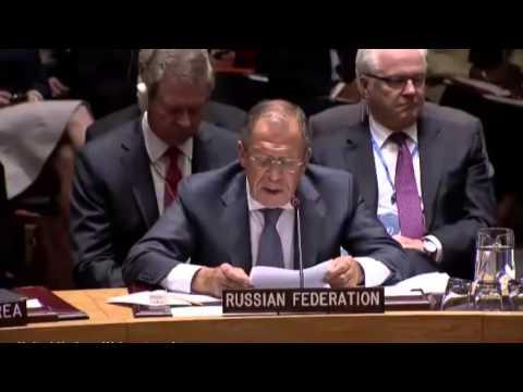 Выступление Министра иностранных дел России С.В.Лаврова на заседании Совета Безопасности ООН по п... (видео)