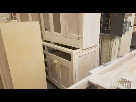Benchmark Custom Cabinet - Beaded inset frame custom cabinetry manufactured in Tacoma, Washington