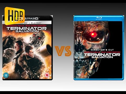 ▶ Comparison of Terminator Salvation 4K (2K DI) HDR10 vs Regular Version