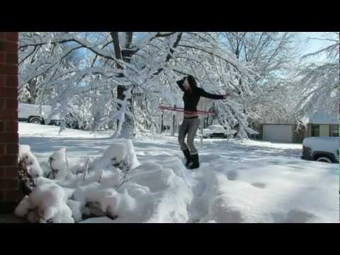 Hula Hula hot en la nieve
