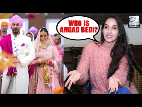 Angad Bedi's Ex Nora Fatehi Reacts ANGRILY To His