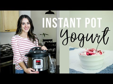 EASIEST How To Make Yogurt In The Instant Pot