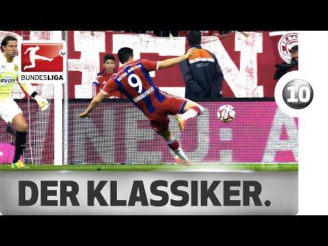 Video: Top 10 Bundesliga moments between Bayern Munich and Borussia Dortmund