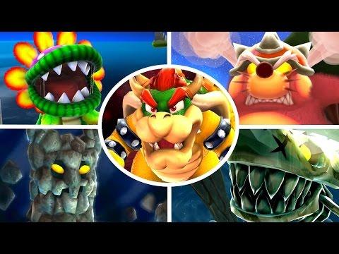 Super Mario Galaxy HD - All Bosses (No Damage) (видео)