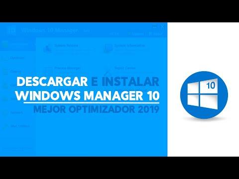 ¡Acelera tu Windows 10 al máximo! (Windos Manager) Full y en Español
