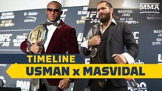 UFC 251 Timeline: Kamaru Usman vs. Jorge Masvidal - MMA Fighting by MMA Fighting