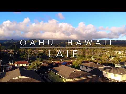 Laie, Hawaii (Drone Clips)