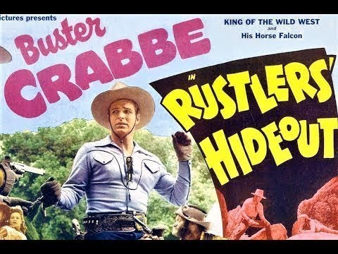 Rustlers' Hideout - Full Western Movies with Buster Crabbe