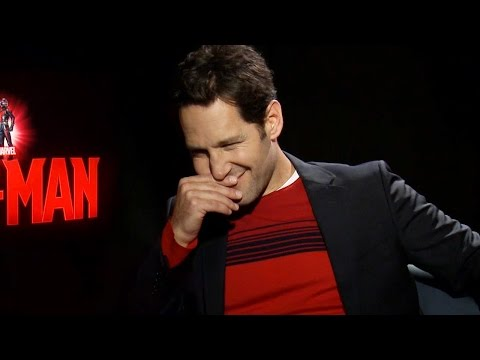 Paul Rudd Farting Ant Man Interview