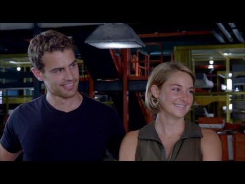 EXCLUSIVE: Shailene Woodley, Theo James Tackle 80-Foot Wall Together for 'Allegiant'